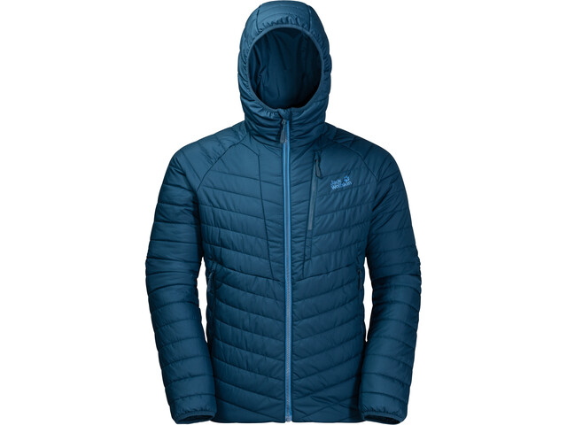 378028211a Jack Wolfskin Aero Trail Jacket Men blue at Addnature.co.uk
